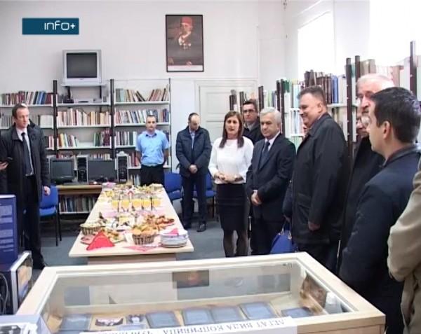 Посјета делегације Чубриловић-Аџић библиотеци